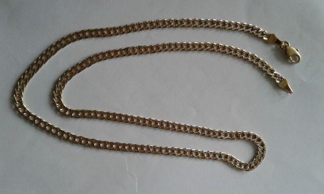 Золотая цепь с алмазным напылением