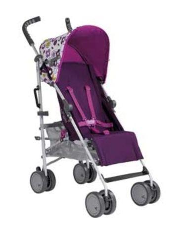 Wózek Spacerówka parasolka  Mamas&Papas Pipi Floral różowy amarantowy