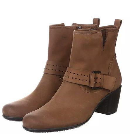 Ecco размер 40 ботинки из натуральной кожи стелька 26см