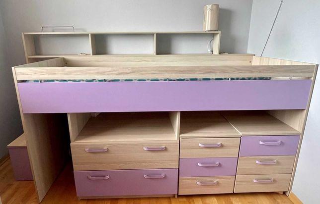 Świetny zestaw mebli dziecięcych, łóżko piętrowe OKAZJA
