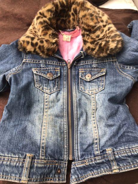 Katana jeans panterka H&M