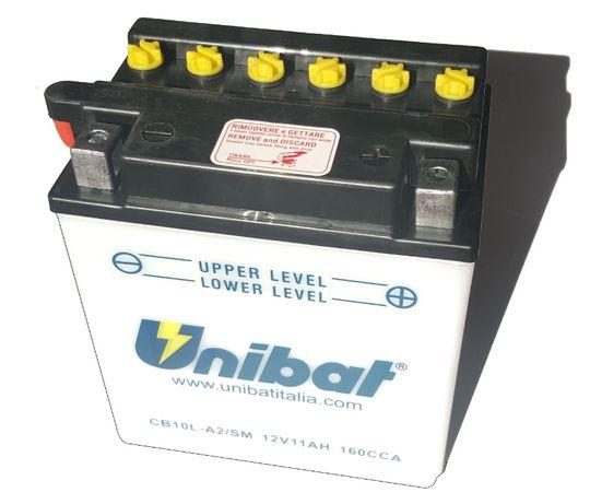 Akumulator Unibat CB10L-A2 YB10L-A2 11Ah 160A 12V NOWY