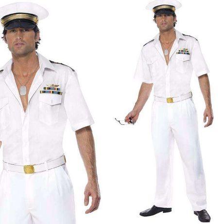 Smiffys kostium męski kapitan TOP GUN