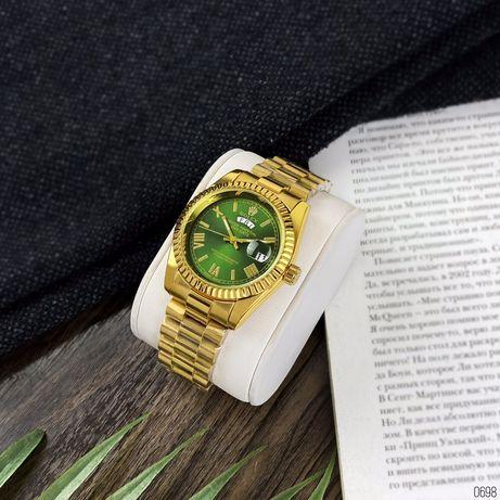 Zegarek Rolex Day-Date Gold-Green Roman