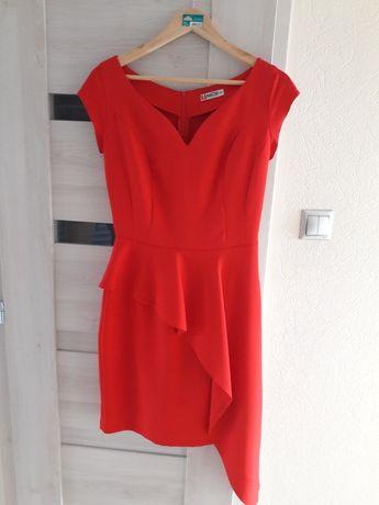 Sukienka r.36 czerwona