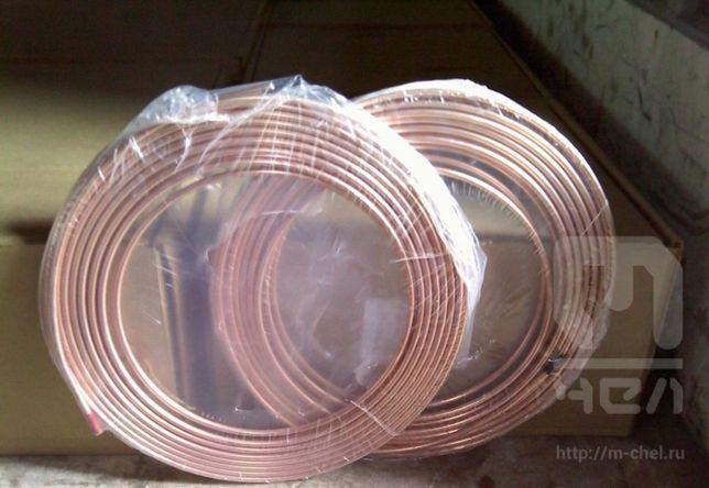 Труба медная 40х3,0 мм твёрдая (мягкая) цена указана за 1 кг