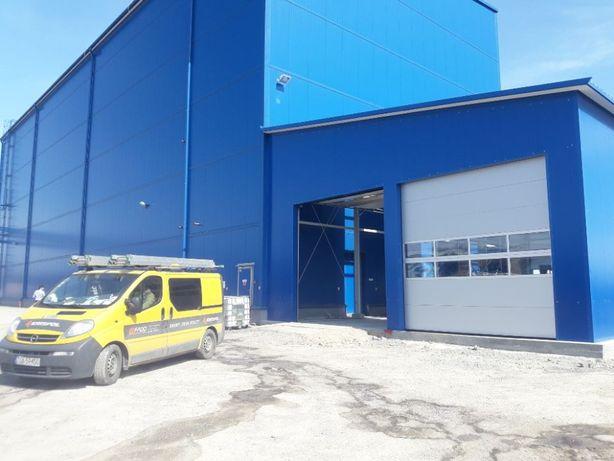 segmentowa brama garażowa przemysłowa Krispol dostawa cała Polska