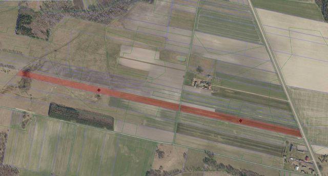 Działki rolne 2,73 ha Kruhłe