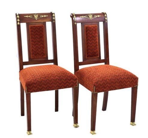 Cadeiras estilo Império
