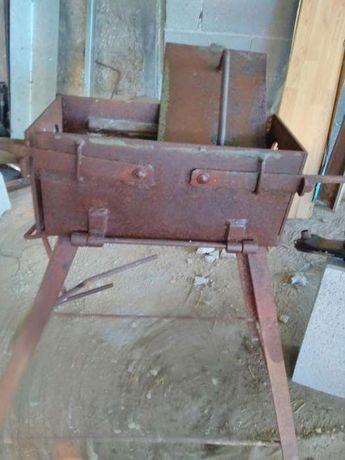 Máquina fazer blocos de cimento antiga
