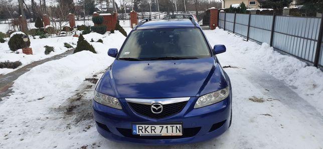 Mazda 6 kombi 136KM rok produkcji 2004
