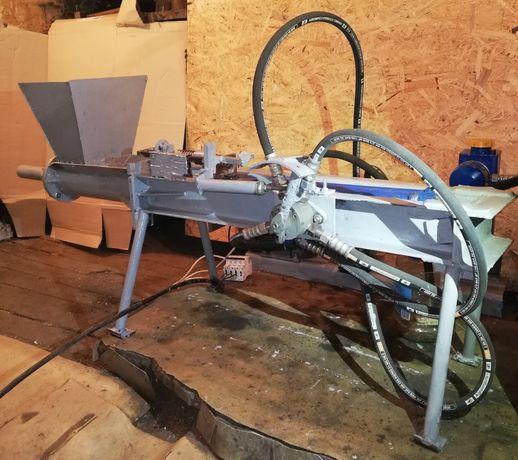 Гидравлический пресс для изготовление брикетов