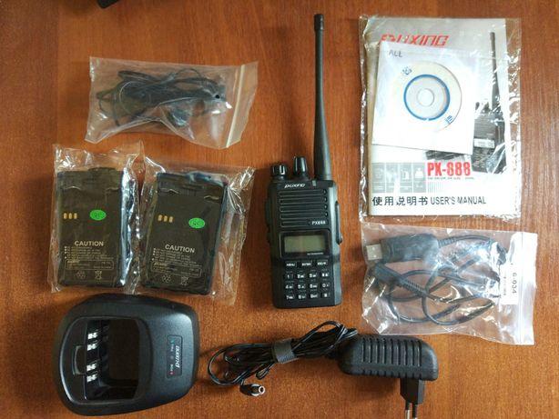 Рация Puxing PX-888 (UHF 400-470 МГц, скремблер)