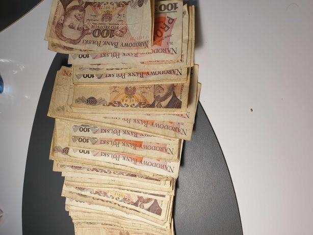 Stare banknoty z prl
