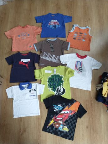 T-shirty paka dla chłopaka na 3lata