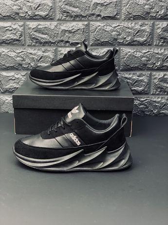 Adidas Yeezy Boost 350 кожаные модные кроссовки 2020 эпицентр кросовок