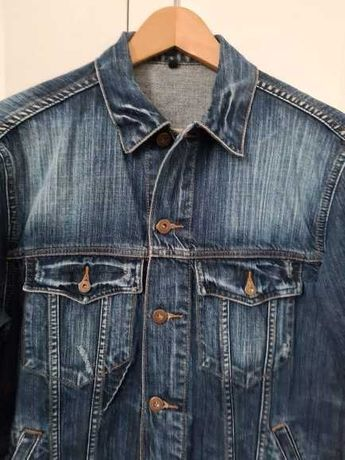wiosenna kurtka jeansowa_uniseks_marki Pepe Jeans