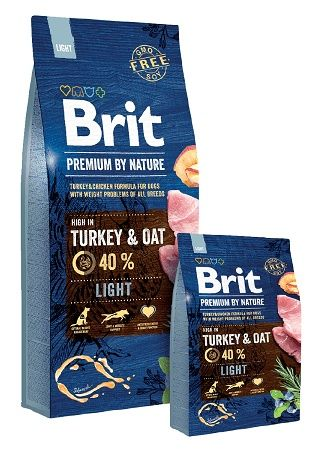 Брит премиум лайт (brit Premium Light) для собак