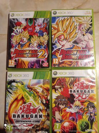 Bakugan, Dragon Ball, Xbox 360