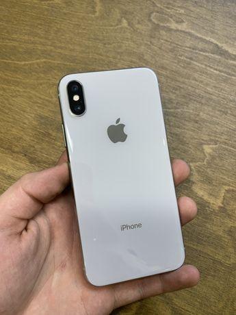 IPhone Xs 64 Silver Neverlock Гарантия до 12 мес Магазин