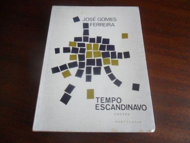 """""""Tempo Escandinavo"""" de José Gomes Ferreira 1ª Edição de 1969"""