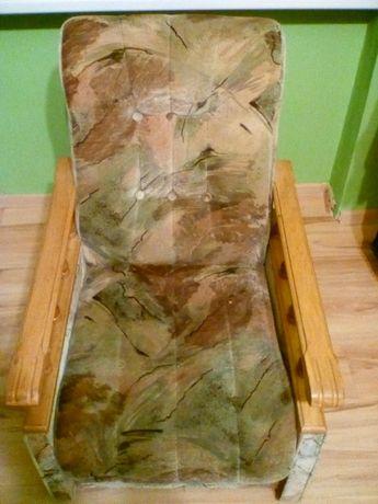 fotel retro-bardzo solidny, 2 sztuki w Legnicy