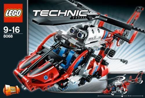 Lego Technic 8068 Rescue Helicopter