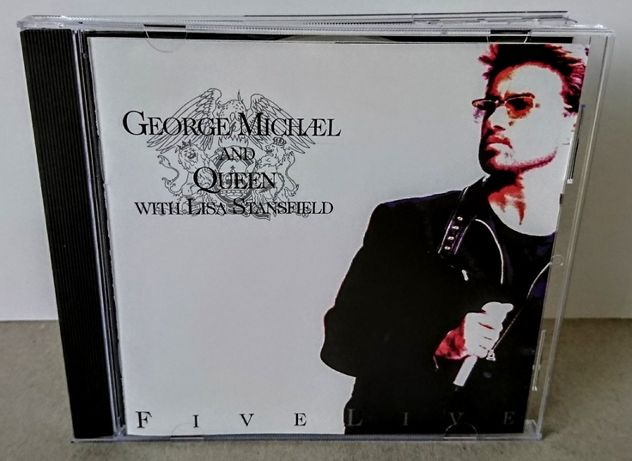 George Michael And Queen With Lisa Stansfield – Five Live