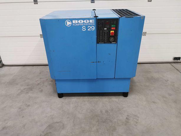 Sprężarka śrubowa 22kw kompresor BOGE S29 3500l/min 8 bar