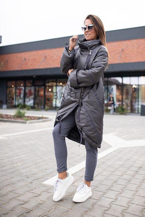 Bastet piękny płaszcz długa szara kurtka s m l Rybnik - image 1