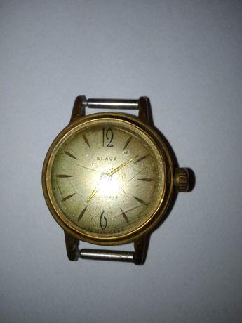 Zegarek damski Slava 17 jewels sprawny stary