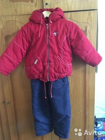 Комбинезон с курткой зимний