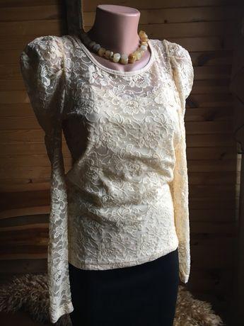 Блуза, мереживо