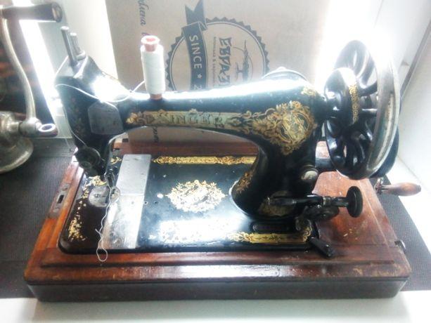 Швейная машинка SINGER дореволюционная
