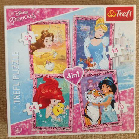 puzzle 4w1 Disney Princess, Frozen