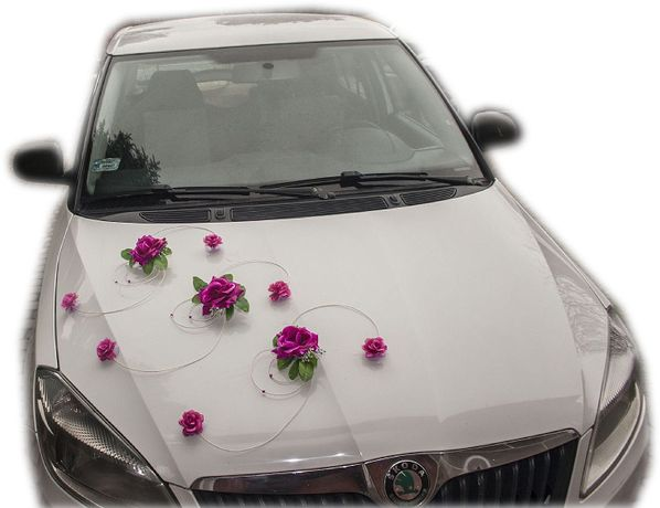 Piękna ozdoba dekoracja na samochód-wzór dostępny we wszystkich kolora