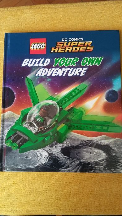 Książka Lego DC COMICS Super Heroes Build Your Own Adventure Białystok - image 1