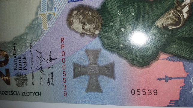 Banknot 20zł bitwa warszawska
