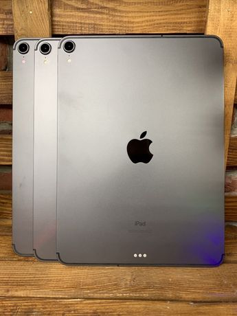 Apple iPad Pro 11' 2018 64gb WiFi+LTE Space Gray! Гарантия от МАГАЗИНА