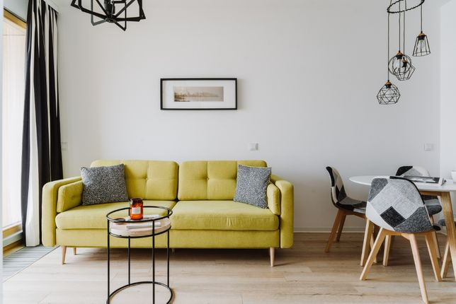 Nowoczesny apartament dla 4 osób Nowoczesne osiedle - CENTRUM WARSZAWY