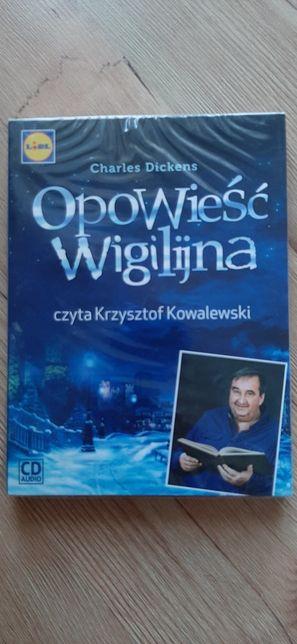 Płyta CD Audiobook Opowieść wigilijna