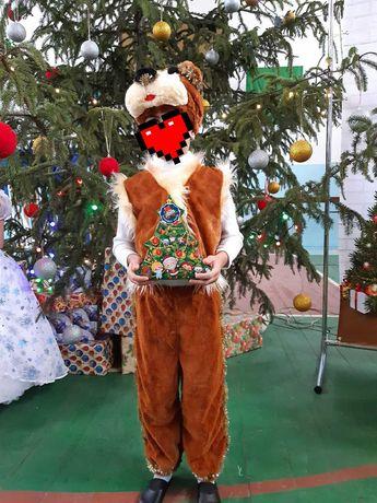 Новорічний костюм ведмедя