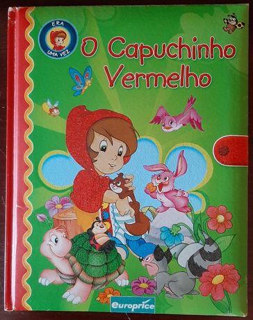 Livro - Era uma vez o capuchinho vermelho