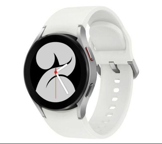 Samsung Galaxy Watch 4 44mm srebrny Silver; Gwarancja 24ms; NOWY;