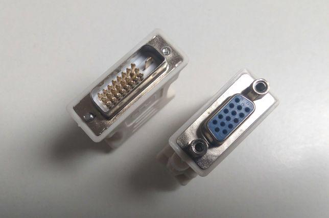 Conversor adaptador, Dvi-d, VGA, DB25 porta paralela