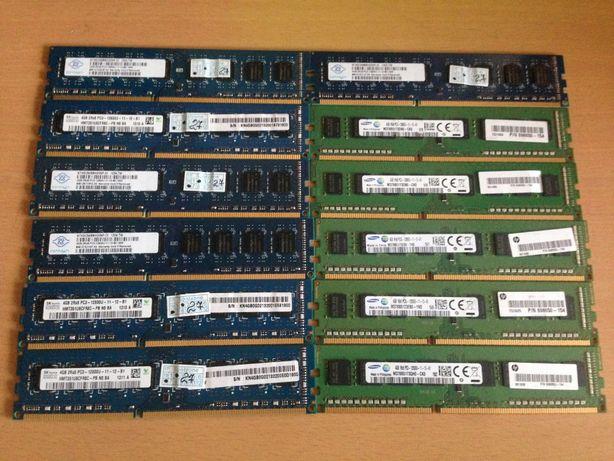 Оперативная память 4GB - 8GB DDR3 1600 MHZ NEW Гарантия.