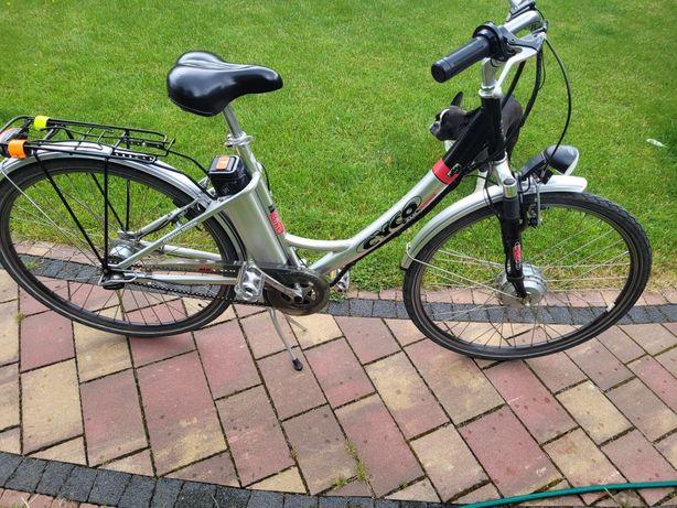 Rower miejski ze wspomaganiem elektrycznym