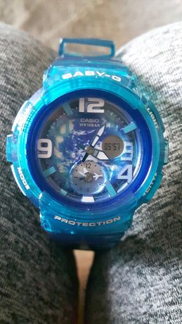 Zegarek niebieski CASIO BABY-G dla chłopca,dziewczynki