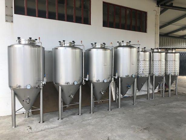 Fermentadores inox cerveja artesanal
