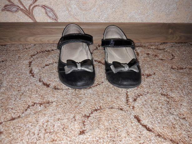 Кожаные туфли 32 размера тм Лапси